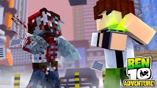 Minecraft Ben10 Adventure BEN 10 VS ZOMBIE APOCALYPSE