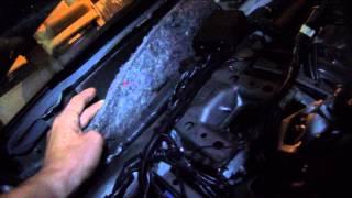 Lexus IS 250. Полная вибро-шумоизоляция автомобиля. Обзор заводской шумоизоляции
