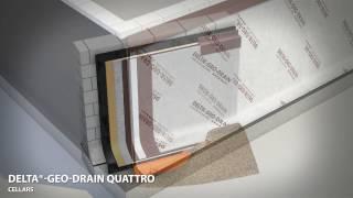 видео Пароизоляционная мембрана DELTA LUXX