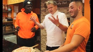 How to Make a Pizza Tutorial with The Real authentic Gordon Ramsay