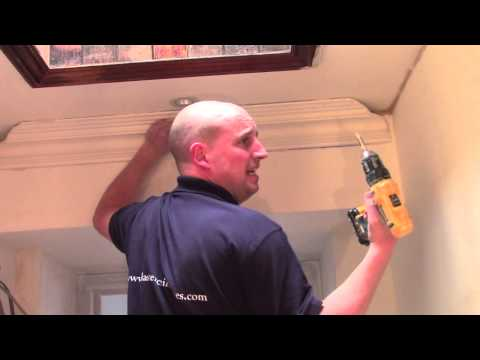Plaster Coving Installation - Fitting Plaster Coving