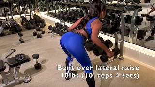 UPPER BODY workout routine! | Jessica Reynoso