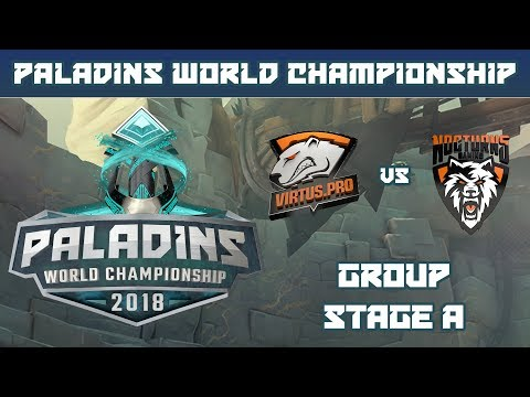 Paladins World Championship 2018: Group Stage A - Virtus.Pro G2A vs. Nocturns Gaming
