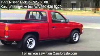 1992 Nissan Pickup SHORT BOX - for sale in Longview, WA 9863