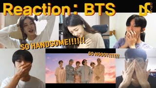(ENG SUB) BTS 'Dynamite' Reaction that repeats the word HADNSOME | Korean Reaction to BTS MV  | DNCE