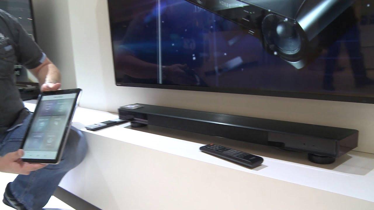 yamaha sound projector ysp-2500, tv-soundstage srt-1000 - youtube - Mobili Tv Yamaha