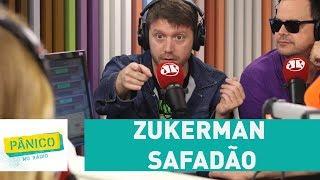 MC Zukerman Safadão xaveca ao vivo Maitê Proença | Pânico