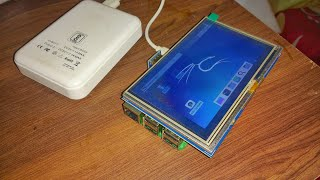 How to setup LCD Touch display with raspberry pi 3 in Hindi