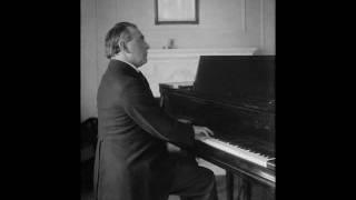"""Ignaz Friedman plays Paganini/Liszt/Busoni """"La Campanella"""" (1926 rec.)"""