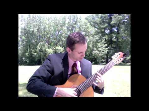 Classical Guitar Wedding Ceremony Music in Saratoga, NY with Jon Tario