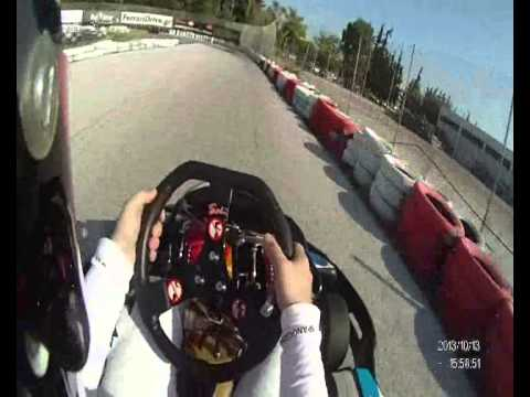 F1 Fans Kart Championship Athens event 2013 Onboard