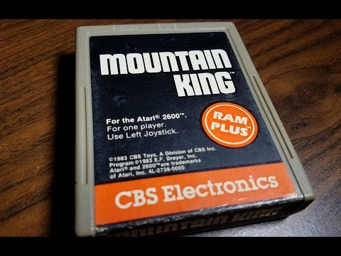 Classic Game Room - MOUNTAIN KING review for Atari 2600