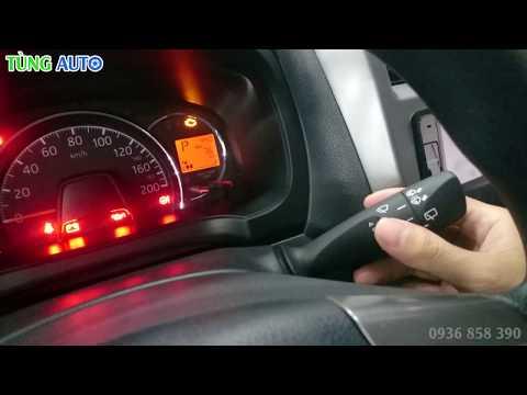Cách sử dụng đèn và gạt mưa trên ôtô | Ví dụ trên Toyota Wigo