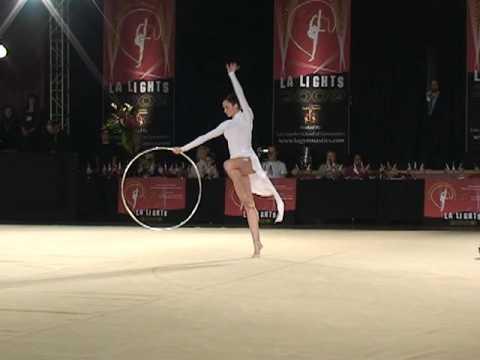 Anna Bessonova LA Lights 2009 Rhythmic Gymnastics 新体操エキシビション(1)