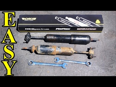 How to Replace Front Shocks
