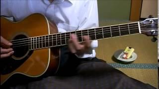 素人のギター弾き語り ブラック・マジック・ウーマン サンタナ 詞曲・Pe...