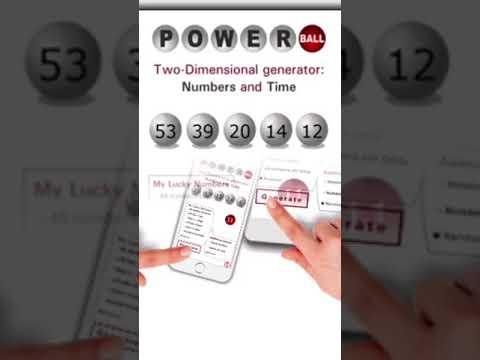 Powerball winning numbers app