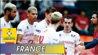 [Points] FRANCE vs. USA | Grand Champions Cup 2017 (Japan)