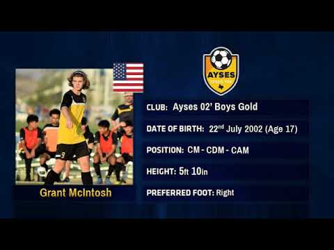 Grant McIntosh Soccer Highlights