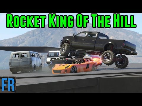 Gta 5 Challenge - Rocket King Of The Hill