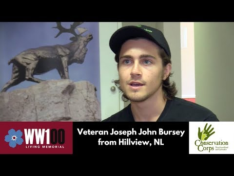 Answering the Call: 100 Years Later (Joseph John Bursey, Hillview)