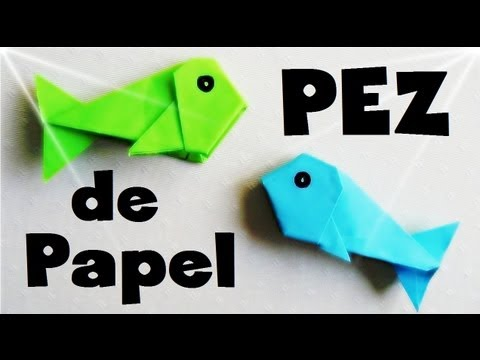 Pez de Papel - Papiroflexia Tutorial