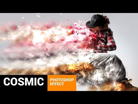 Commetum - Cosmic Tail Photoshop Action Tutorial