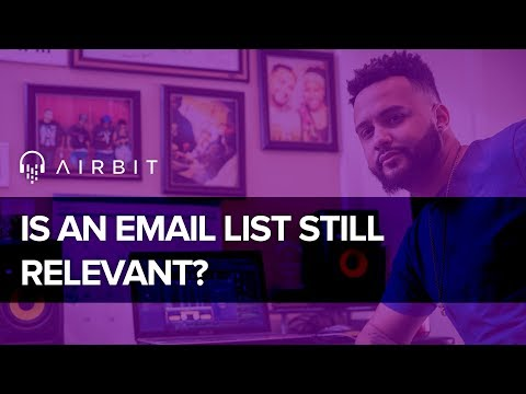 Music Producers - Are Email Lists Still Relevant For Selling Beats in 2017?
