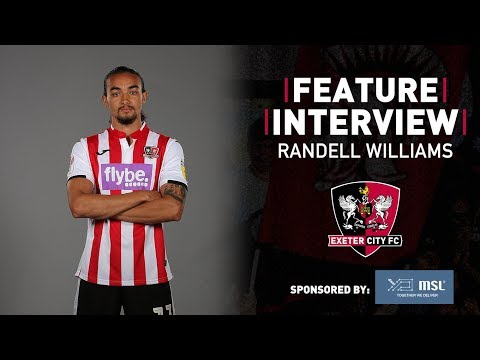 💬 FEATURE: Randell Williams - Assisting the team | Exeter City Football Club
