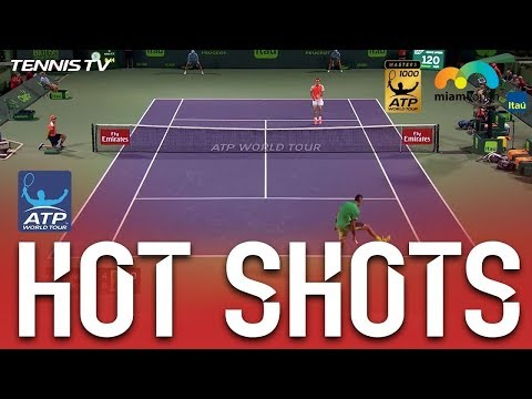 Hot Shot: Kyrgios Hits Between The Legs Winner At Miami 2017