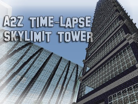 Minecraft Timelapse High Apartment Building Youtube