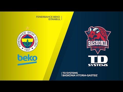 Fenerbahce Beko Istanbul - TD Systems Baskonia Vitoria-Gasteiz Highlights |EuroL