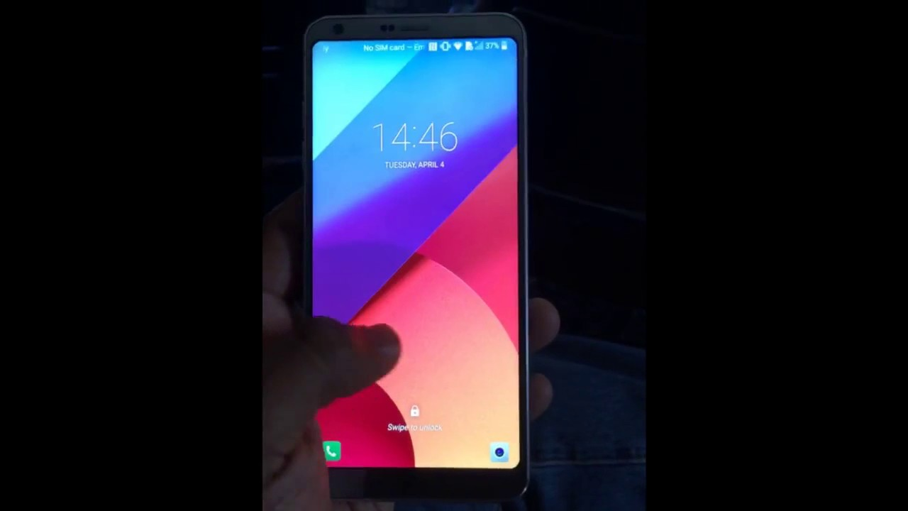 how to get google launcher on lg g6