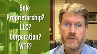 Sole Proprietor? LLC? Corporation? Which Should You Choose?