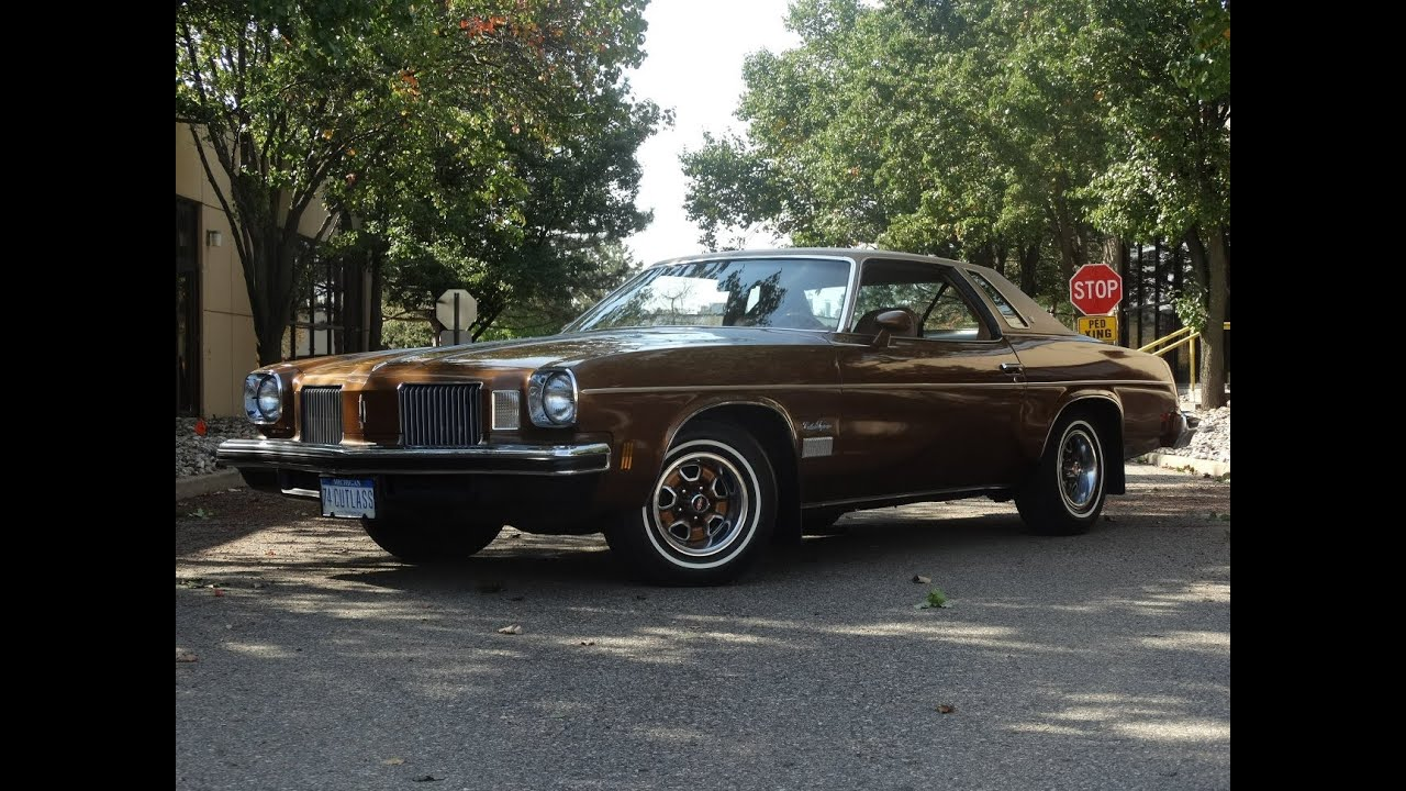 1974 oldsmobile cutlass stock 537 det youtube for 1974 oldsmobile cutlass salon for sale