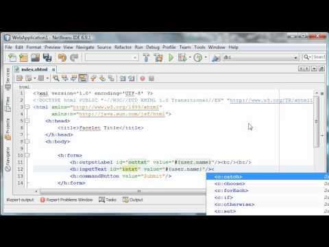 Java Server Faces Tutorial 5 - Ajax in JSF