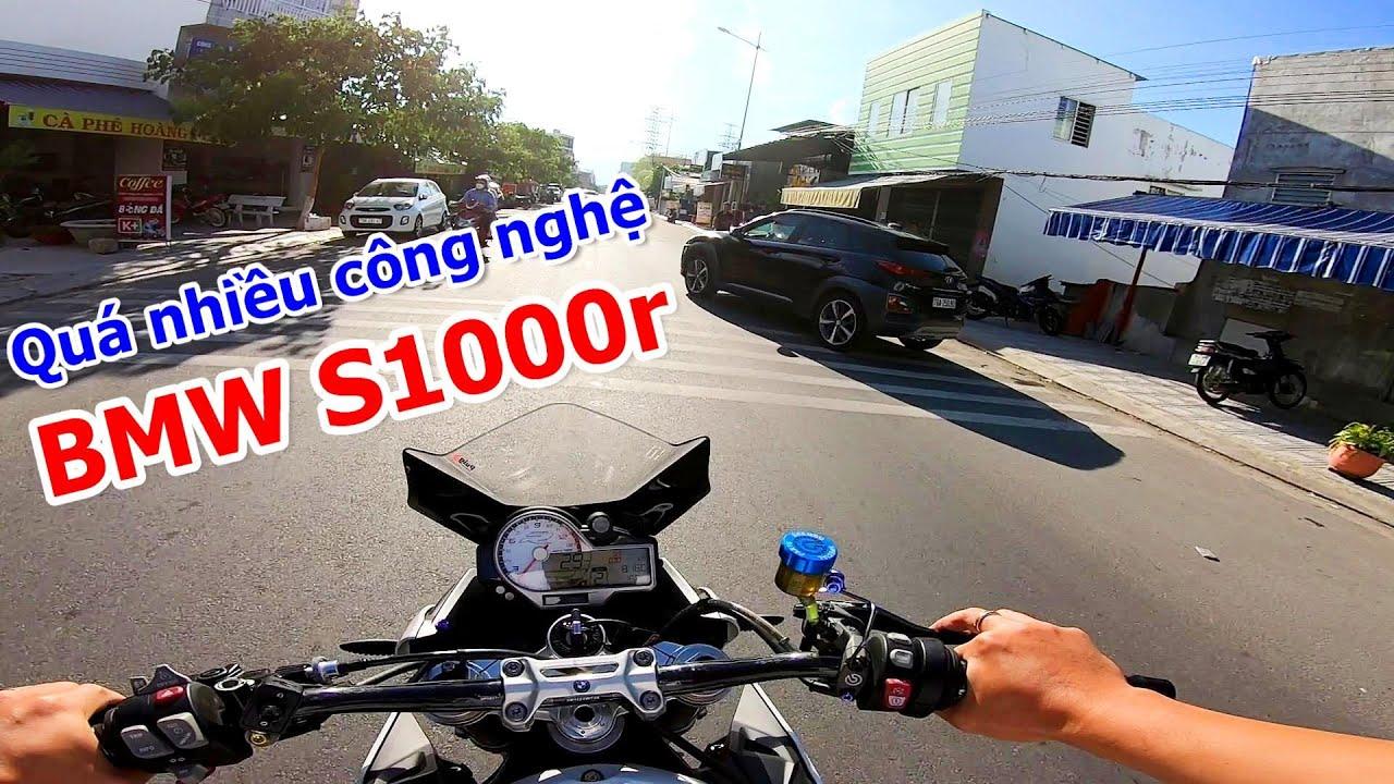 [Chạy xe và Tám] BMW S1000r Moto PKL với nhiều công nghệ hay ho