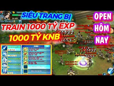 Vltk Mobile Lậu Open Hôm Nay – Train 1000 Tỷ Knb , 1000 TỶ EXP, Đồ Siêu Nhân Đồ đỏ Đá Hồn