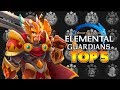 BEST 3 STAR FIRE CREATURES IN MIGHT AND MAGIC ELEMENTAL GUARDIANS