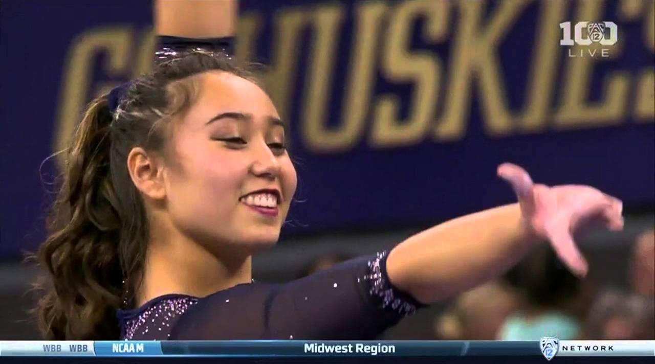 Katelyn Ohashi: Katelyn Ohashi (UCLA) 2016 Beam PAC-12 Championships 9.9