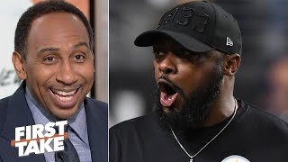 Stephen A. is amazed that the Steelers are still hanging on in the AFC   First Take