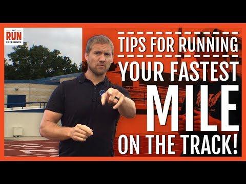 One Mile Run Track Race Tips