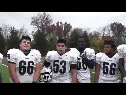 Zebras vs Falcons Post-Game Interview with Zebras Football Team 11-7-15