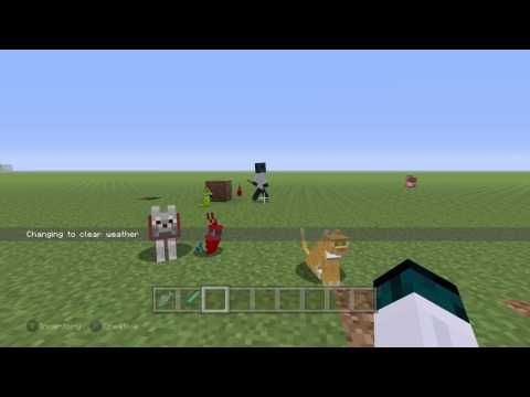how to tame: ALL POSSIBLE TAMEABOLL ANIMALS IN MINECRAFT\XBOX-ONE\XBOX 360!