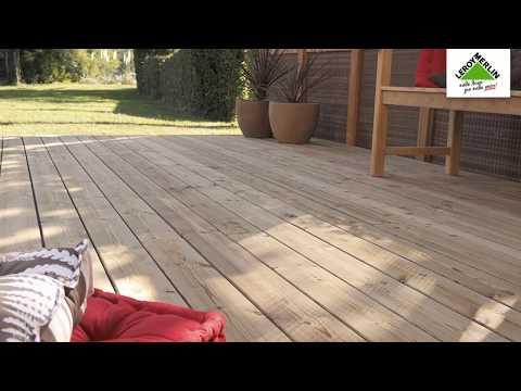 Τοποθετώ ξύλινο δάπεδο εξωτερικού χώρου