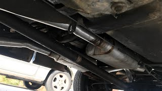 The Exhaust Setup on my C10 Chevy Truck