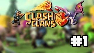 Primeiro Video De Clash Of Clans - 2 Ataques em Guerra