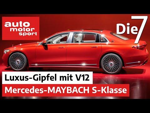 Luxus-Gipfel mit V12 - 7 Fakten zur Mercedes-Maybach S-Klasse | auto motor und sport