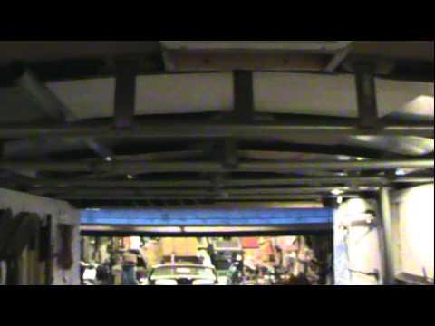 Enclosed Trailer Collapsed Roof Repair Youtube