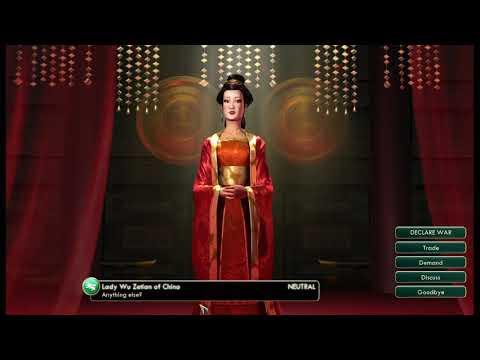 playing Sid Meier's Civilization V part 4 |